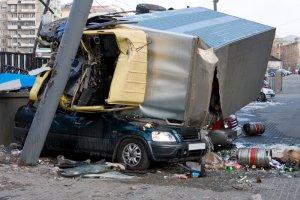 Las Lesiones Más Comunes Tras un Accidente de Camión
