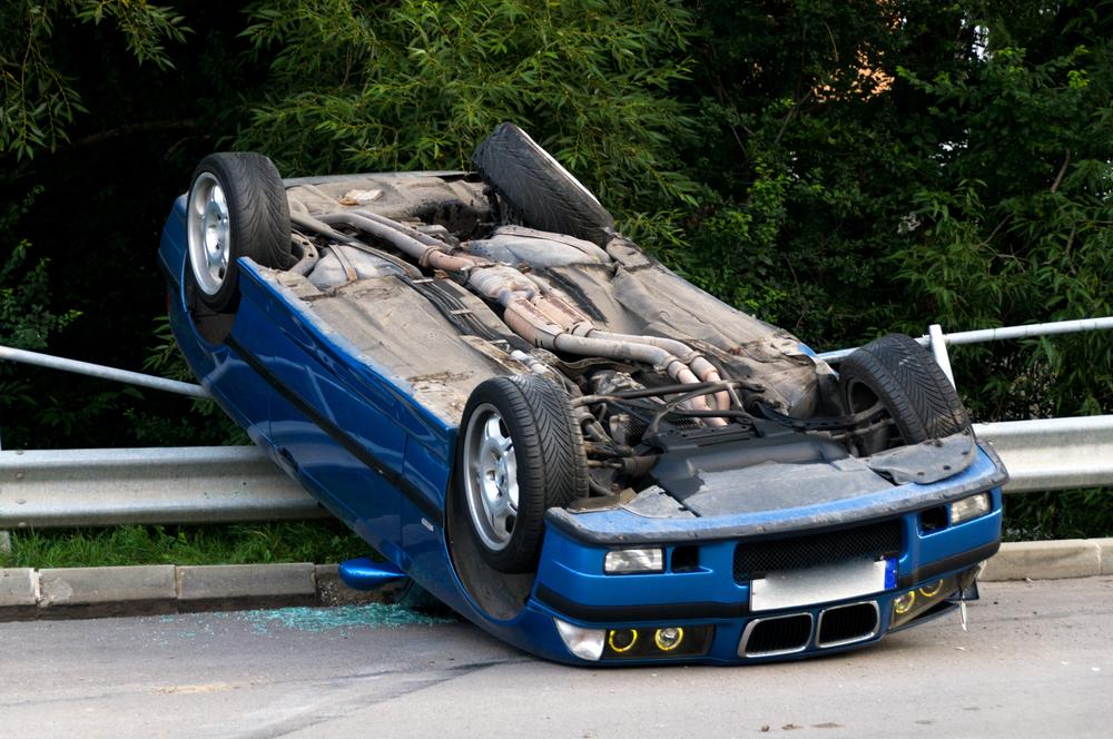 Accidentes de vuelco del vehículo
