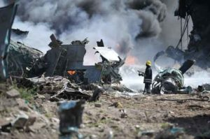 airplane crash in houston