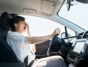 fatigued and drowsy driving